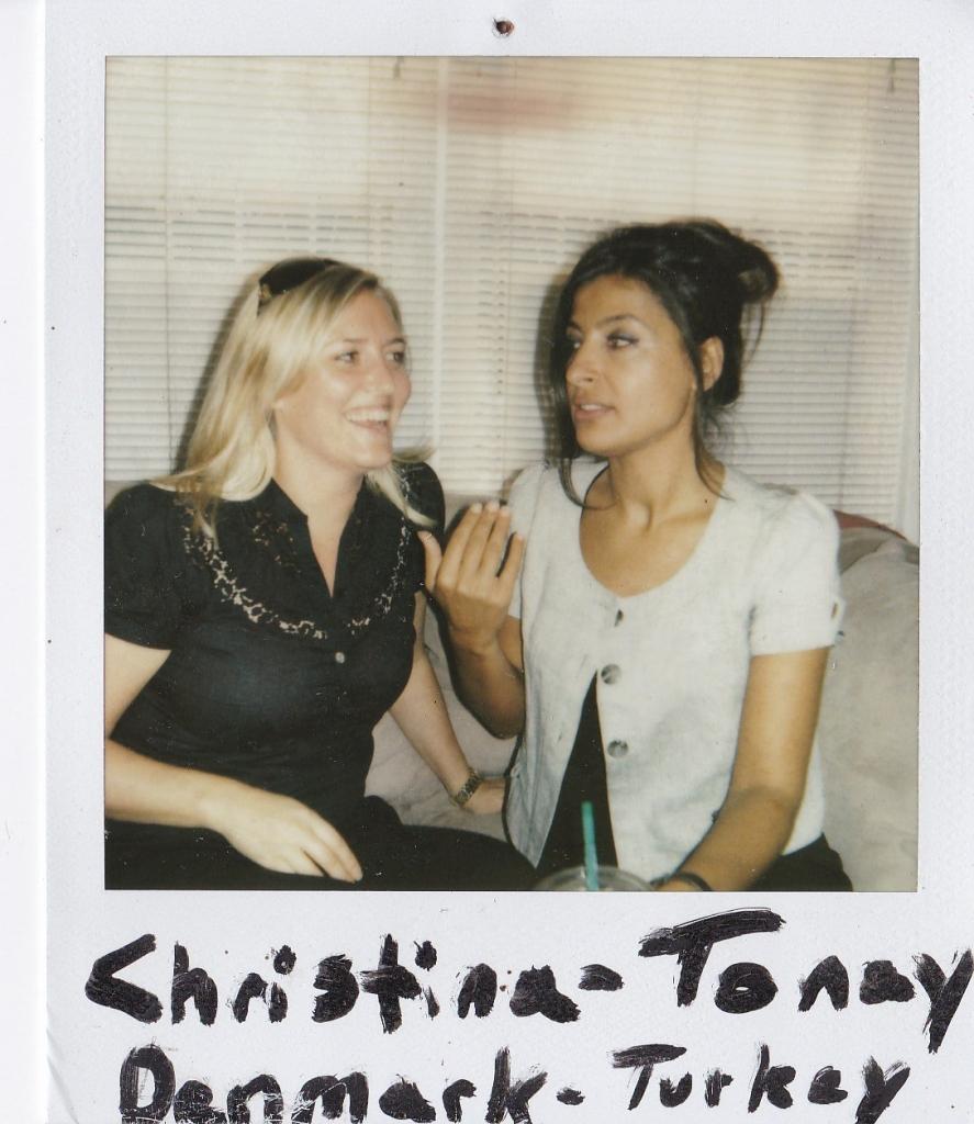 Christina (Denmark) Tonay (Turkey)