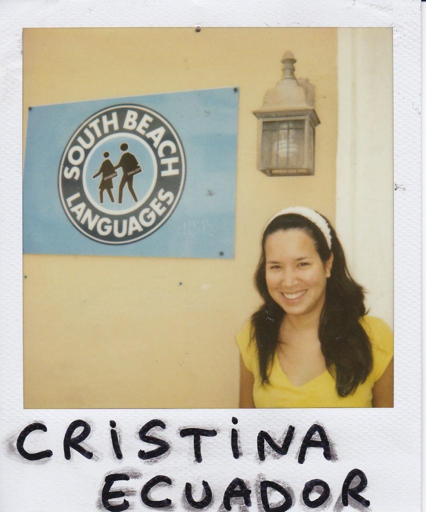 Cristina Ecuador
