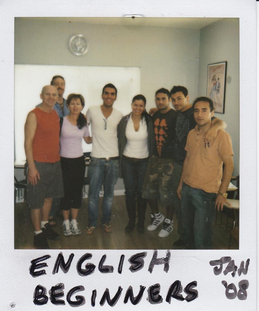 English Beginners Jan 2008
