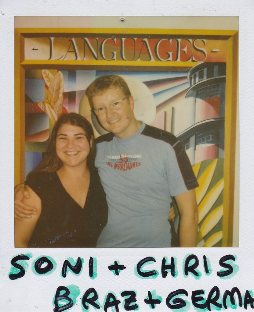 Soni, Brazil  Christian, Germany